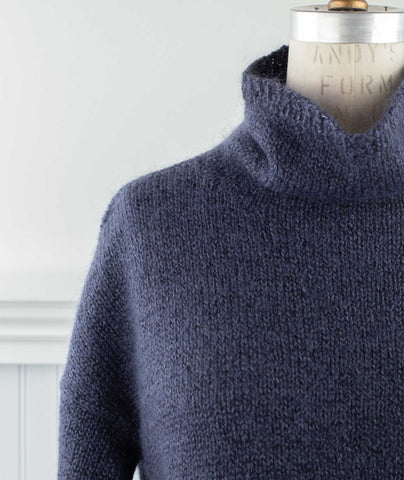 Better Than Basic Pullover Using Shibui Nest & Silk Cloud