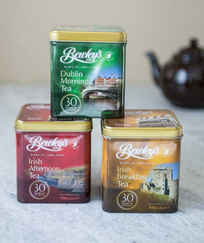 Bewley's Teas in 30-bag Tins