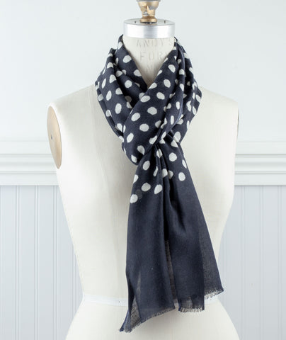 Bloom & Give Polka Dot Scarves