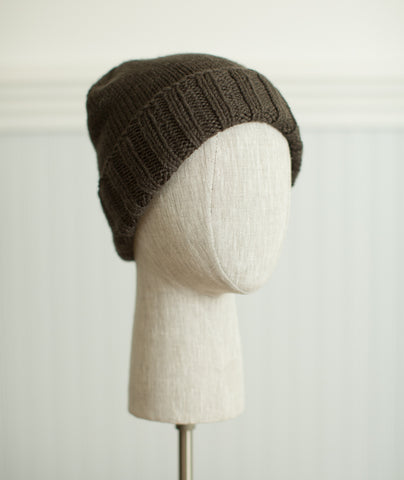 Boyfriend Watch Cap Using Blue Sky Fibers Extra