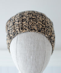 Marled Boyfriend Watch Cap Using Brooklyn Tweed Loft