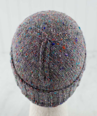 Boyfriend Watch Cap Using Tahki Donegal Tweed