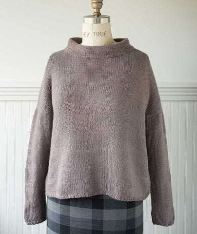 Better-Than-Basic Pullover Using Shibui Drift