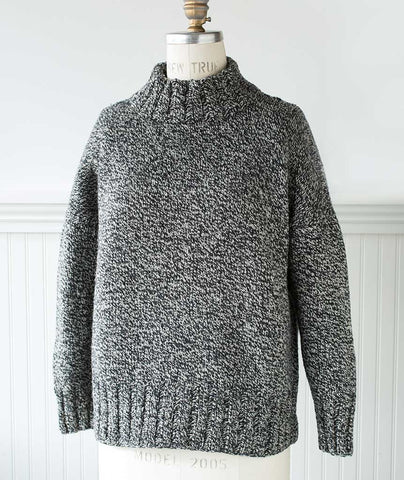 Better-Than-Basic Pullover Using Brooklyn Tweed Shelter