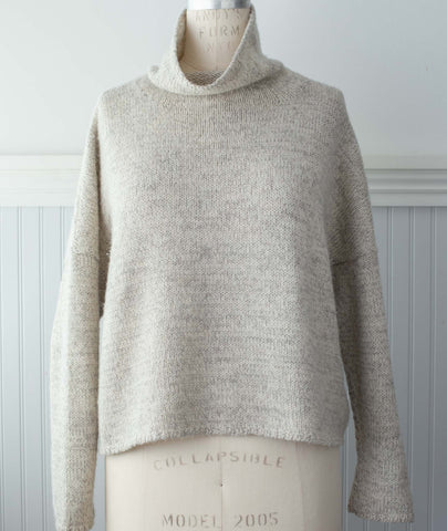 caf049e2d Better-Than-Basic Pullover Using Isager Alpaca Merino 2 ...