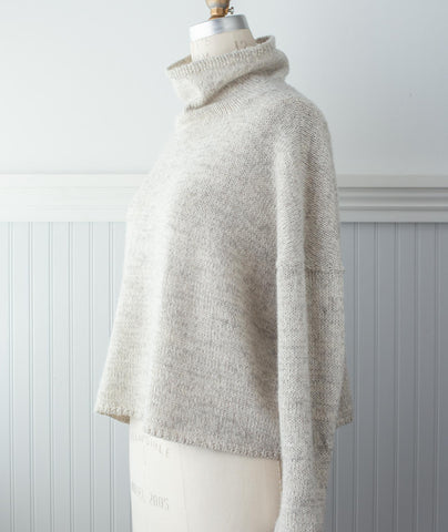 Better-Than-Basic Pullover Using Isager Alpaca 2