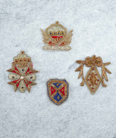 Bullion Crest Patches