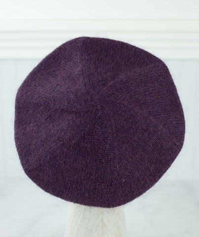 Cashmere Beret Using Brooklyn Tweed Loft & Shibui Silk Cloud