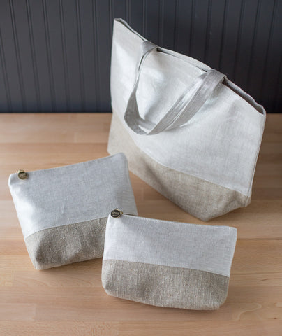 Zippered Pouches & Tote