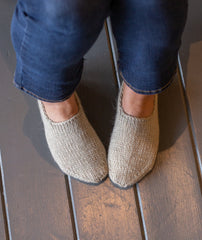 Chunky Slipper Socks Using Rowan Cocoon