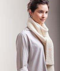 Garter-Stitch Scarf & Sideways Handwarmers - Maxima Version