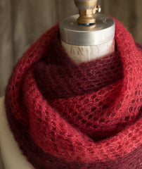 Crocheted Moebius Cowl Using Rowan Kidsilk Haze
