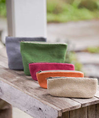 Oval Crocheted Pouches - Rowan Handknit Cotton Version