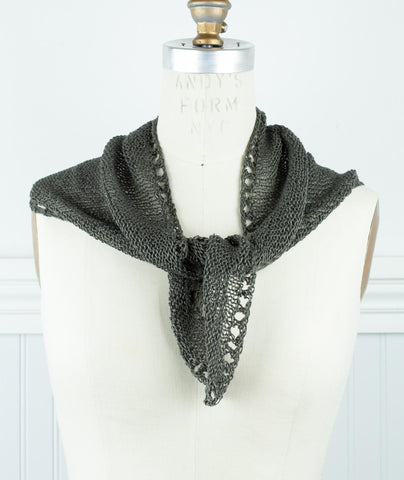 Demi Lune Kerchief Using Lang Canapa