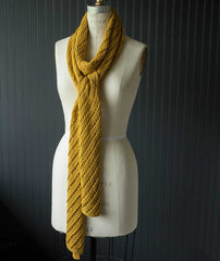 Diagonal Lace Scarf Using Berroco Modern Cotton