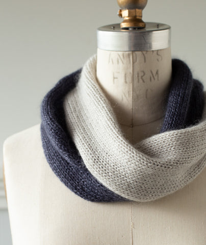 Didion Cowl Using Shibui Echo & Silk Cloud
