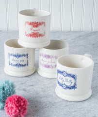 Doris Creamware Little Mugs