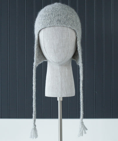 Earflap Hat Using Blue Sky Fibers Techno
