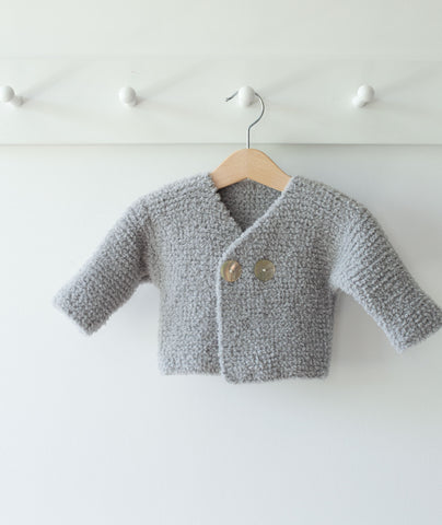 Easy Peasy Baby Jacket Using Sirdar Snuggly Bunny