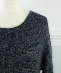 Easy Relaxed Pullover Using Shibui Tweed Silk Cloud, Silk Cloud & Cima