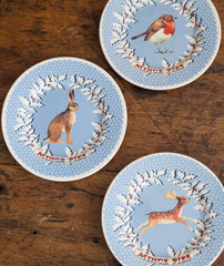 Emma Bridgewater Snowstorm Christmas Wreath Mugs & Plates