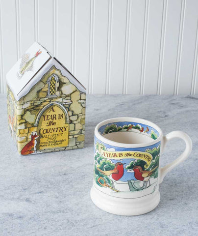 Emma Bridgewater Year in the Country Mugs