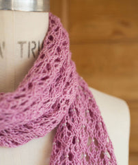 English Mesh Lace Scarf - Serena Version