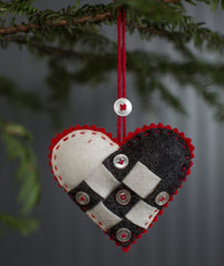Nordic Felt Ornament Kit