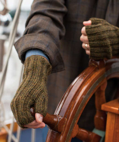 Ferryboat Mitts Using Berroco Ultra Alpaca