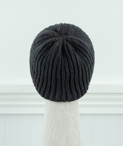 DK Fisherman's Rib Beanie Using Brooklyn Tweed Arbor