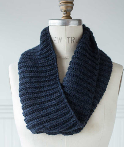 Fisherman's Rib Cowl - String Classica Version