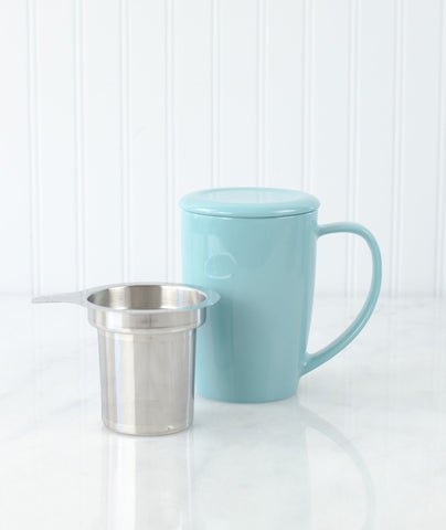 Curve Tea Mug with Infuser