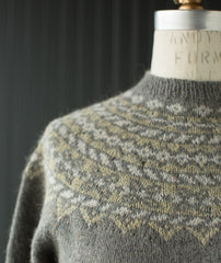 Fumber Sweater Using Rowan Felted Tweed