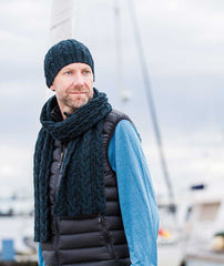 Fair Winds Beanie & Scarf - Woolstok Version