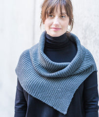 Half & Half Cowl Using Shibui Drift