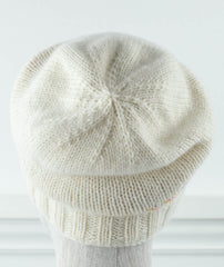 Hanley Falls Hat Using Blue Sky Fibers Eco Cashmere