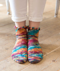 Happy Ruffled Socks - Alegria Version