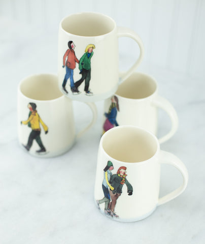 Helen Beard Illustrated Ceramic Mugs