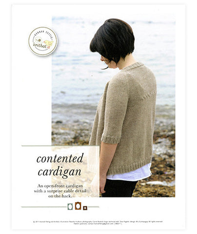 Contented Cardigan Pattern