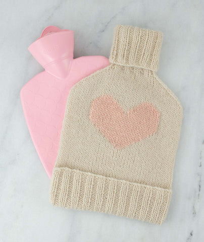 Hot Water Bottle Cozy Using Rowan Kid Classic