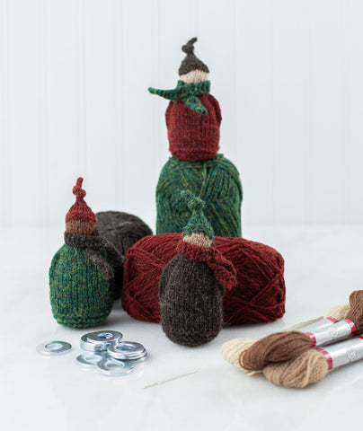Jolly Wee Elf Kit Using Jamieson's Shetland Spindrift