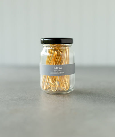 Studio Carta Gold-Plated Paper Clips