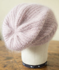 Mist Hat Using Rowan Kidsilk Haze/Fine Lace