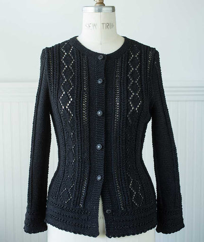 Vale Cardigan - Rowan Denim Version