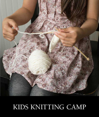 Kids Knitting Camp 2019
