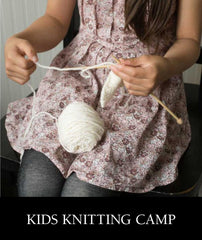 Kids Knitting Camp