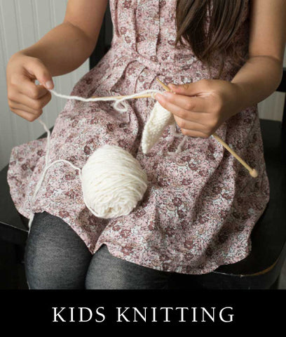 Kids Knitting - Learn to Knit or Pick a Project