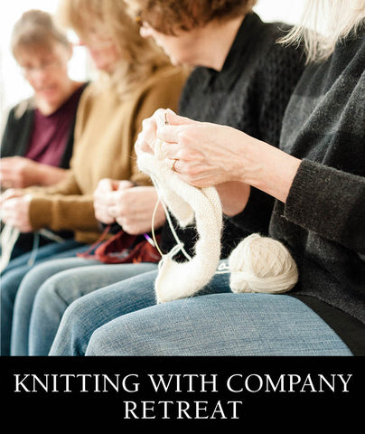 Knitting with Company: An Island Retreat 2018