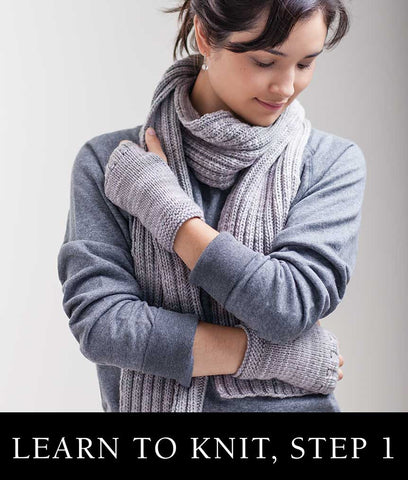 Class: Learn to Knit - Fingerless Gloves