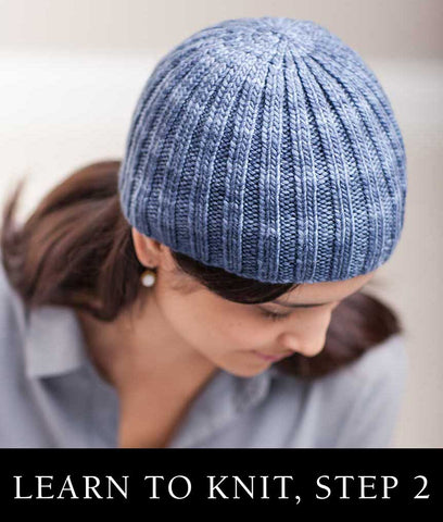 Class: Learn to Knit, Step Two